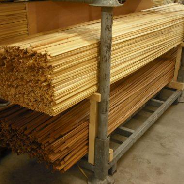 Hoeklat hout