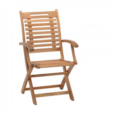 Klapstoel met armleuning silvano 1