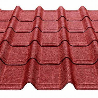 dakplaat rood