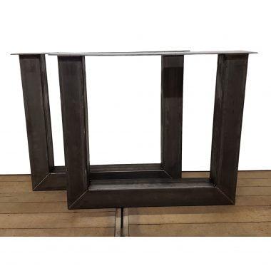 U-poot staal 10x10 cm (website)