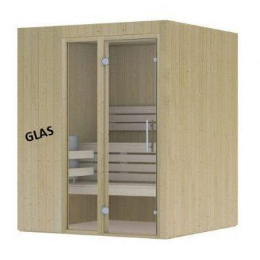Hot Orange sauna 1680x1680 mm (NR 2)a