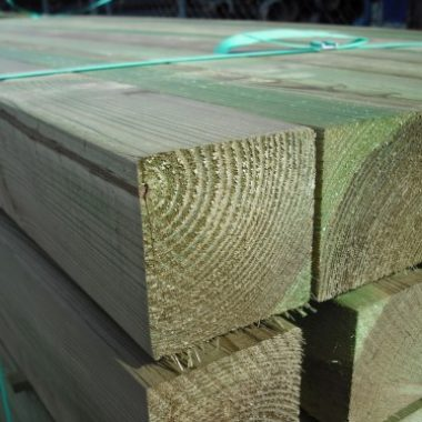 Tuinpaal geïmpregneerd grenen 68x68 mm