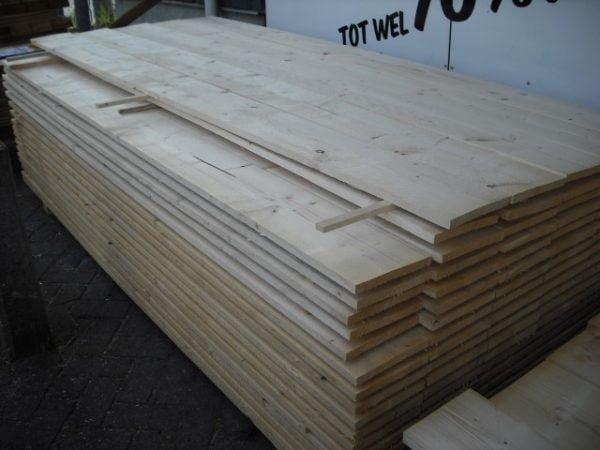 Steigerplank onbehandeld 30×200 mm 250 cm