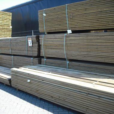 Tuinplank geschaafd geïmpregneerd grenen 15x140 mm