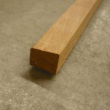 Glaslat hardhout 17×19 mm 270 cm