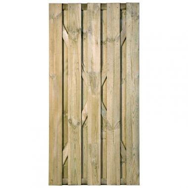 Tuinpoort cardiff recht 90x180 cm