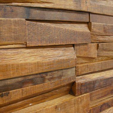 Massief Merbau 3D houtstrips