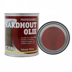 Professionele hardhout olie 750 ml of 2,5L