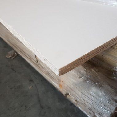 Okoume 22 mm 153×310 cm wit gegrond