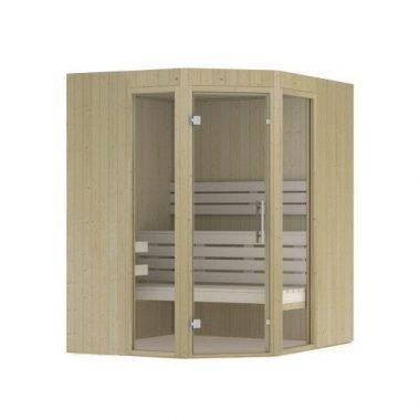 Hot Orange sauna 1860x1860 mm (NR 11)