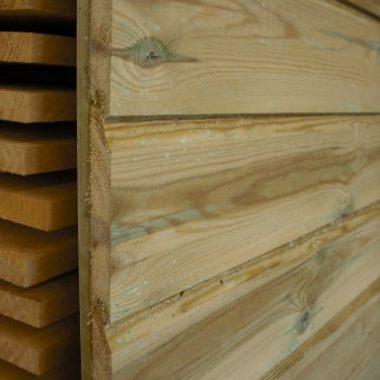 Rabatdelen geïmpregneerd grenen 18x145 mm