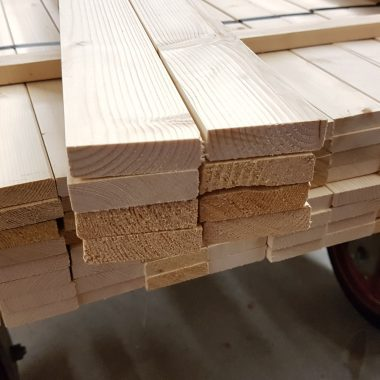 Vurenhout geschaafd 15x56 mm (voordeelbundel)