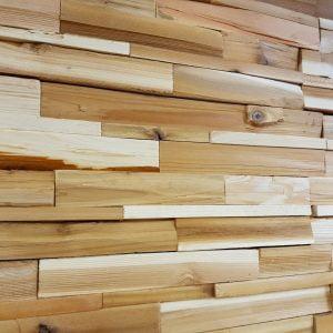 Western Red Cedar 3D houtstrips