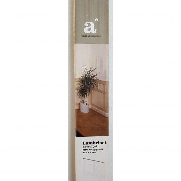 Lambriset Bovenlijst 120x4 cm