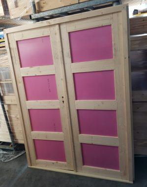 Dubbele deur paneel 150x196 cm