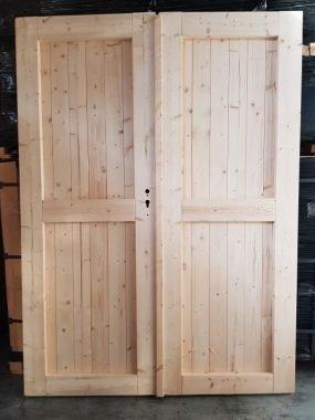 Dubbele deur dicht 150x196 cm