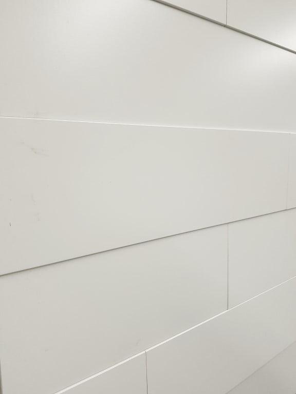 3D Wandpaneel Wit