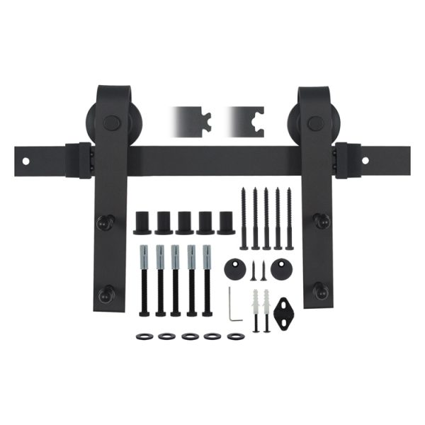 Schuifdeursysteem Retro mat zwart SP-50