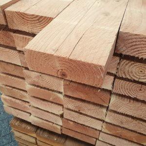 Douglas balk fijnbezaagd 63x175 mm