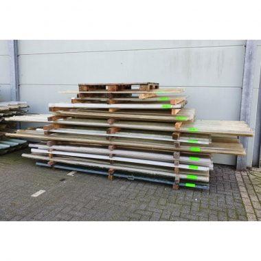 Polyester damwandprofielplaten (dakplaten- golfplaten) PARTIJEN