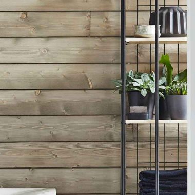Wood Wall White wash 18×133 mm 270 cm