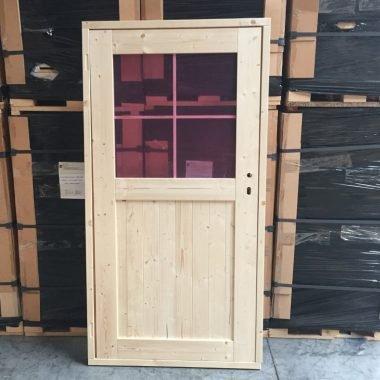 Dubbele deur glas NR 28 tuinhuisdeur blokhutdeur