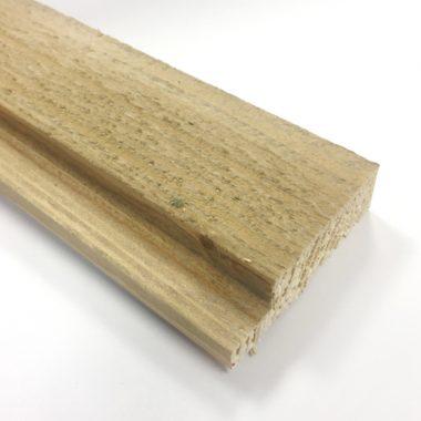 Wood Wall hoeklijst Brown 18×59 mm 270 cm