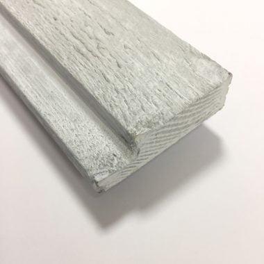 Wood Wall hoeklijst white wash 18×59 mm 270 cm