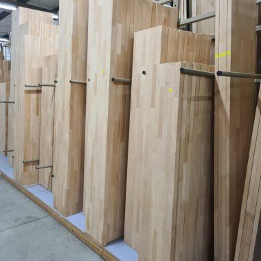 Massief Beuken panelen 40 mm