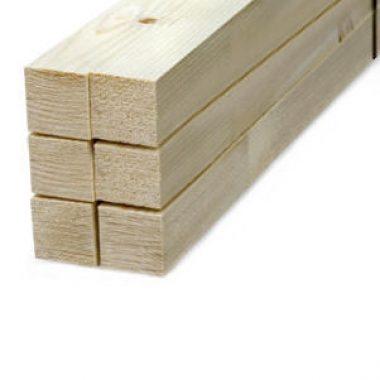 Vurenhout geschaafd 33x44 mm (voordeelbundel)