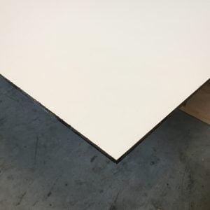 HPL Volkernplaat crème 6 mm 130x305 cm
