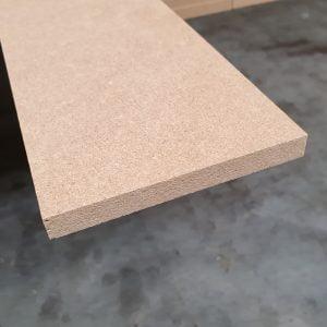 MDF strook/plint 12 mm 11,5x305,5 cm