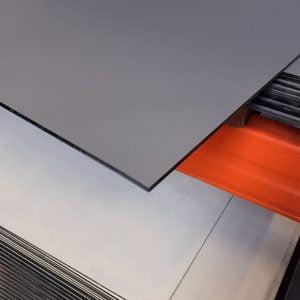 HPL Volkernplaat antraciet 6 mm 130x305 cm