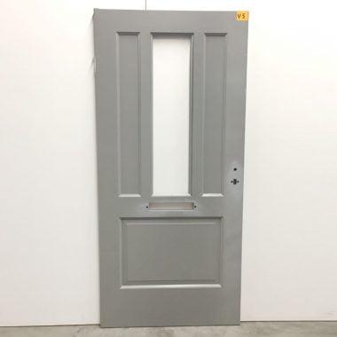 Voordeur hardhout 93x201,5