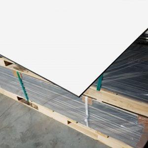 HPL Volkernplaat wit 6 mm 130x305 cm