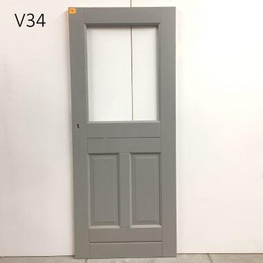 Hardhouten voordeur / buitendeur Cando ML 625