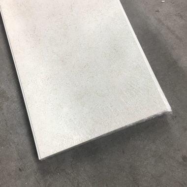 Kunststof plafondpanelen/wandpanelen Starlight cream 270x25 cm