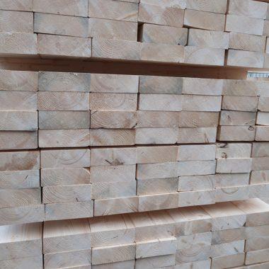 Balkhout geschaafd 58x155 mm