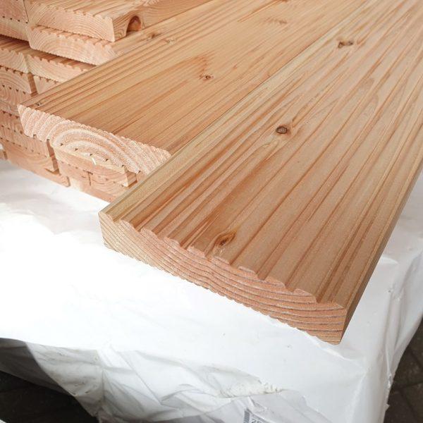 Vlonderplank douglas 28x145 mm