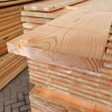 Douglas plank geschaafd 25x192 mm
