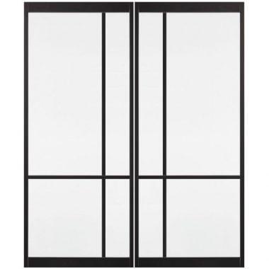 Skantrae SSL 4107 met glas Taatsdeuren set van 2 deuren