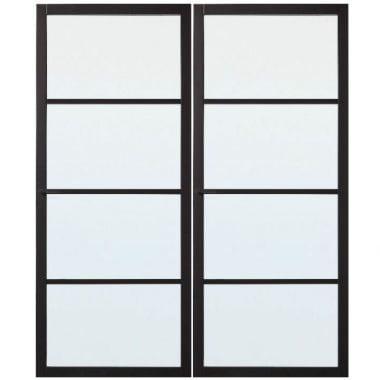 Skantrae binnendeur SSL 4004/4024 met glas set van 2 deuren