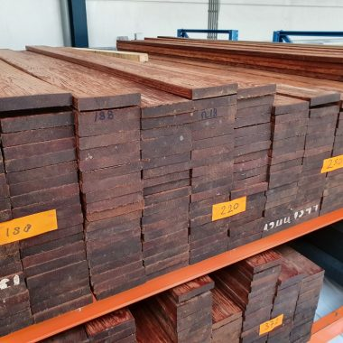 Vlonderplank Walaba (hardhout) 25x145 mm