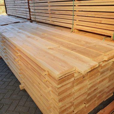 Douglas plank fijnbezaagd 32x200 mm 300 cm