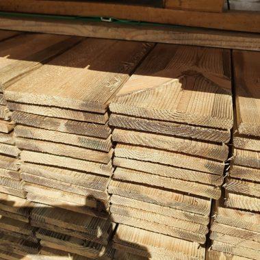 Tuinplank geschaafd geïmpregneerd grenen 13x120 mm