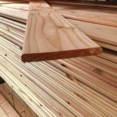 Douglas plank geschaafd 16x140 mm 360 cm