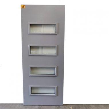 Hardhouten voordeur / buitendeur Cando 83x201,5 cm (deur VD101)