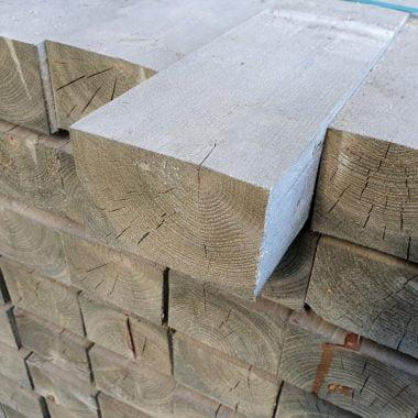 Balk cementgrijs 85x125 mm 330 cm