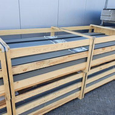 Composiet terrasplank Stone Grey 28x162 mm 300 cm (duofuse)