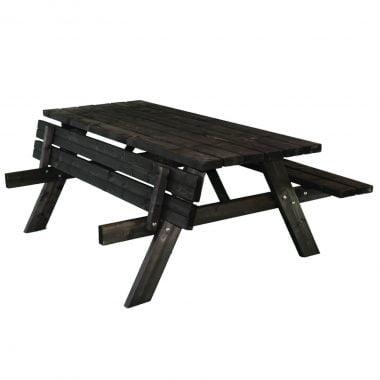 Picknicktafel Deluxe 180 zwart